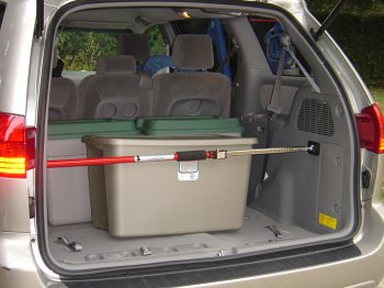 Sparehand Steel Adjustable Cargo Bar with Self-Locking