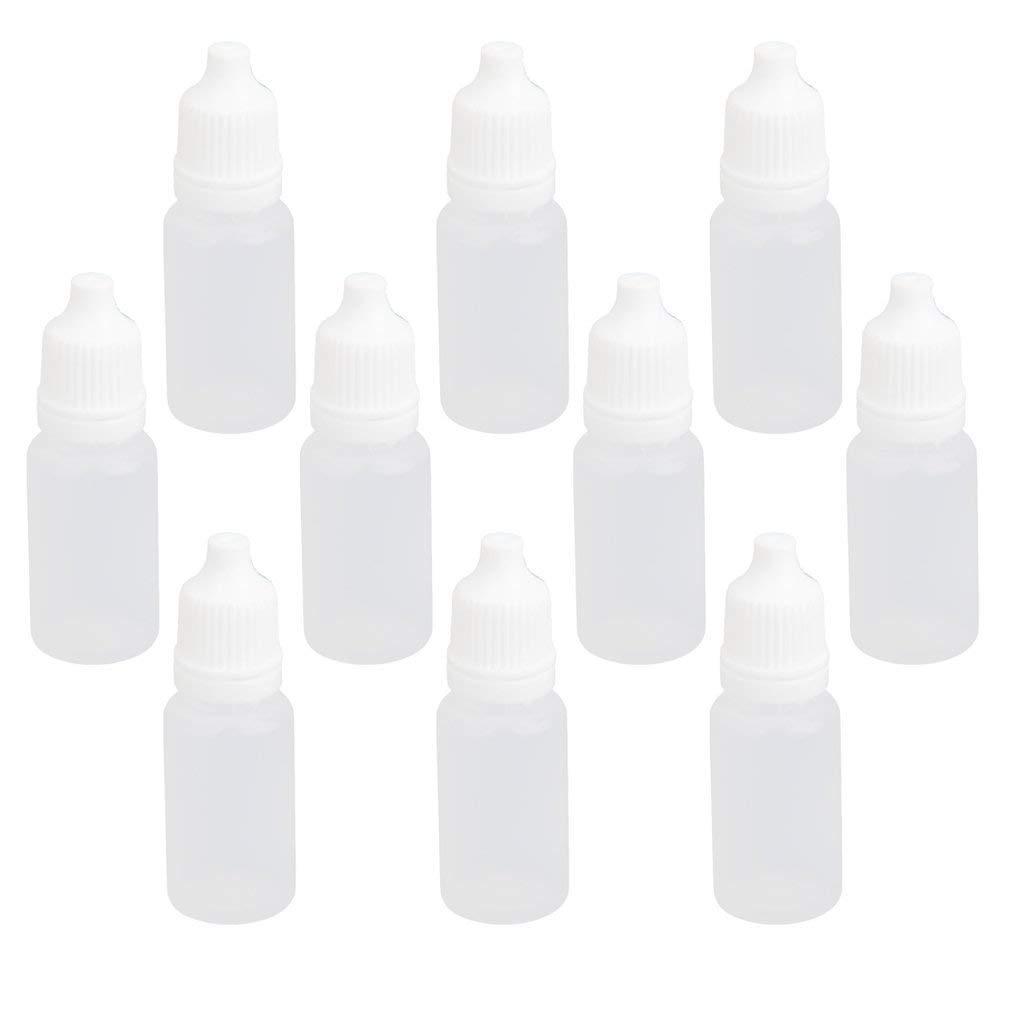 Rocita 10 ML Tip Precision aplicador Botella de plástico líquido la Pintura Gota Botellas Tuercas 10pcs: Amazon.es: Hogar