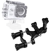 DURAGADGET High Quality Bike Handlebar Action Camera Mount with GoPro Style Connector - Compatible with the TecTecTec! Sports Action Camera | XPRO1 | XPRO2 Action Cameras