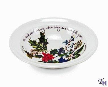 Portmeirion Holly & Ivy Oatmeal Bowl (64040) ()