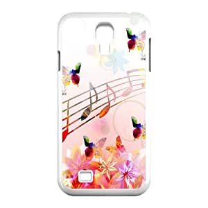 Musical Note Samsung Galaxy S4 9500 Cell Phone Case White O2450684