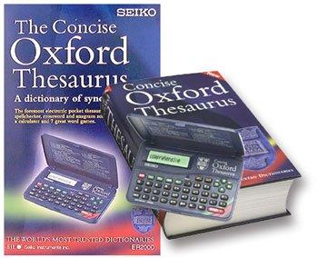 Seiko Oxford English Thesaurus by Seiko