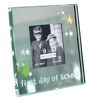 Spaceform London Mini Mirror Frame First Day Of School