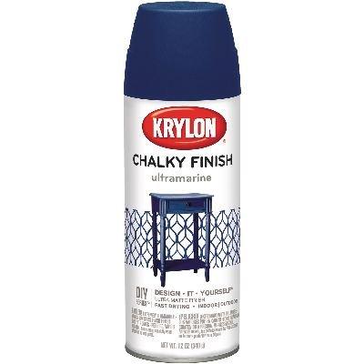 Krylon K04109000 12 Oz Ultra Marine Chalky Finish Spray ()