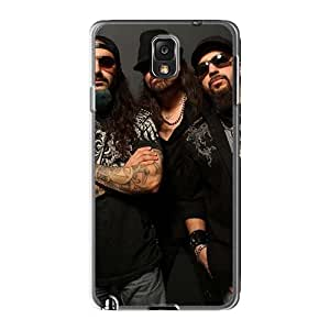 Shockproof Hard Phone Cases For Samsung Galaxy Note3 With Customized High Resolution Avenged Sevenfold Band A7X Skin EricHowe