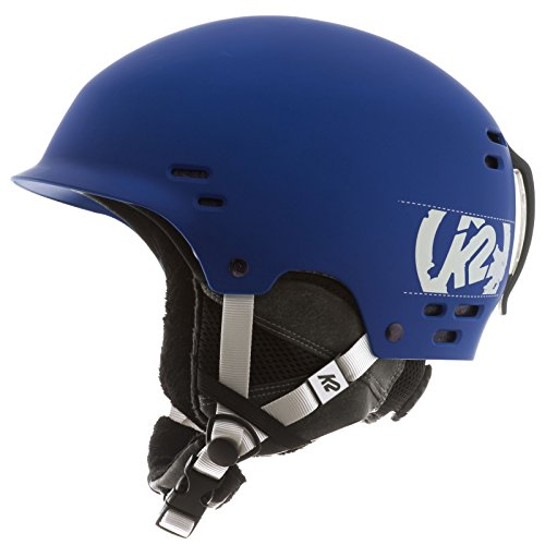 (K2 2013 Thrive Ski Helmet, Small, Blue)