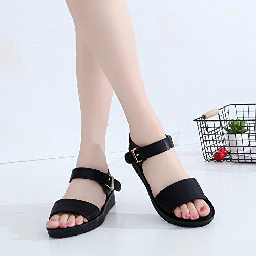 Estudiantes Zapatos de Playa de Sandalias GTVERNH Zapatillas Zapatos Zapatos blanco de Mujer Zapatos Verano Pantalones Princesas wUSqOC
