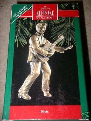 Hallmark Keepsake Ornament - Elvis Presley