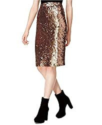 Women's Sequined Pencil Skirt