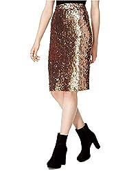 Women's Sequined Pencil Skirt