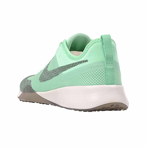 Nike Kvinners Air Zoom Dynamiske Mesh Trenere Grønn Glød / Svart-toppmøtet Hvite