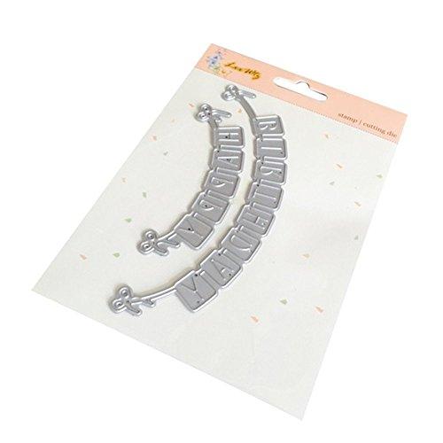 Die Cuts,Lookatool Metal Cutting Dies Stencils DIY Scrapbooking Photo Album Paper Card Gift LDM-228