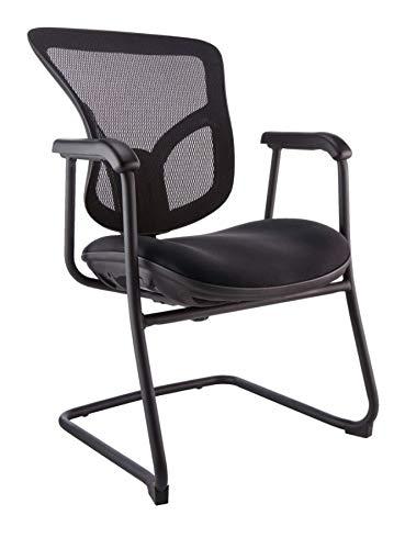 WorkPro Warrior 212 Series Guest Chair, Black