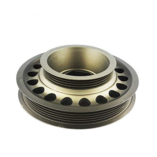 minum Crankshaft Pulley OEM Size Compatible for 93-01 Honda Prelude H22 VTEC ()