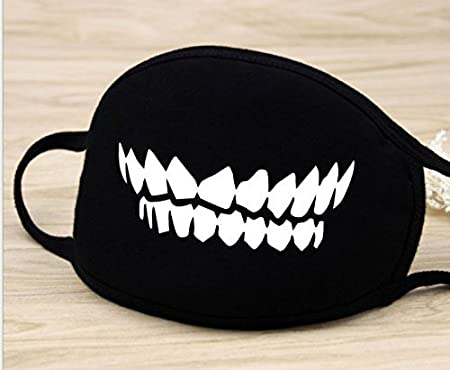 fwehfefh Fashion Bathing ape Bape Shark nero maschera camouflage mouth-muffle Bape cover A