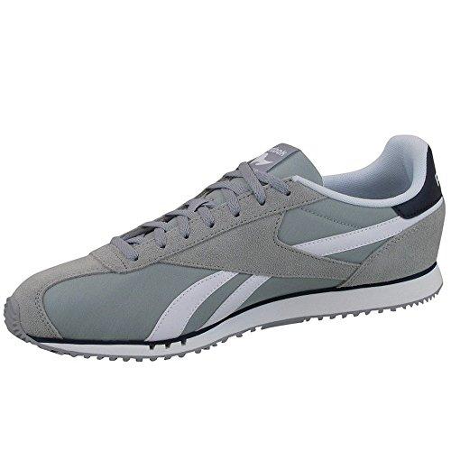 Reebok Royal Alperez Dash - Zapatillas de deporte Hombre Gris (Baseball Grey / Collegiate Navy / White)