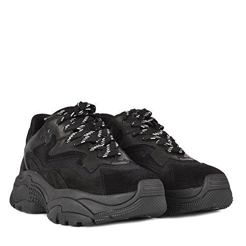 Chaussures Noir Addict Baskets Femme Ash AqHPw