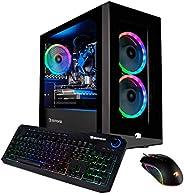 iBUYPOWER Gaming PC Computer Desktop Element Mini 9300 (AMD Ryzen 3 3100 3.6GHz, AMD Radeon RX 550 2GB, 8GB DD