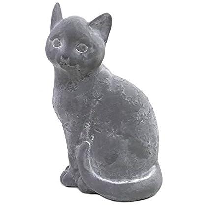 Statua Scultura gatto in cemento 25 cm: Amazon.it: Casa e cucina