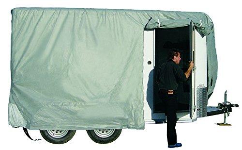 ADCO 46002 SFS Aqua-Shed Bumper-Pull Horse Trailer Cover - 10'1
