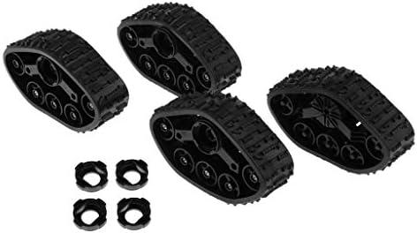スノータイヤ RCカーホイール プラスチック WPL 4WD RCトラック適用 4個セット