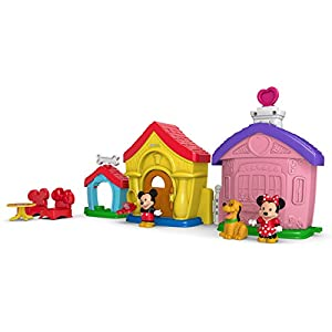 Fisher-Price Little People Magic of Disney Mickey and Minnie's House Playset - 41BRT EMS0L - Fisher-Price Little People Magic of Disney Mickey and Minnie's House Playset