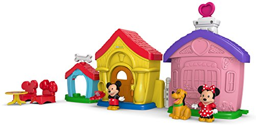 Fisher-Price Little People Magic of Disney, Mickey & Minnie's (Fisher Price Little People Dollhouse)