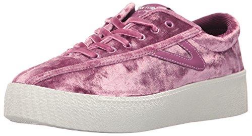 Tretorn Femmes Nylite4bold Sneaker Rose Velours Écrasé