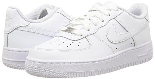 Basse – Da Ginnastica Force 1 Air Bambini Nike blanco blanco Scarpe gs Bianco Unisex 1F0waqz