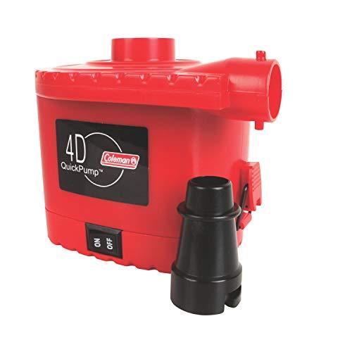 Coleman 4D Battery QuickPump Electric (Coleman Rechargeable Quickpump)