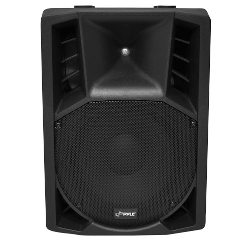 PylePro PPHP128AI 12-Inch 1200-Watt Powered 2-Way Full Range PA Speaker with iPod Dock/USB/SD, Remote Control, Microphone (1200 Watt 12' Professional Woofer)