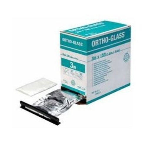 BSN Medical OG-4PC Ortho-Glass Pre-Cut Splints, 4'' x 15'' (Pack of 10)