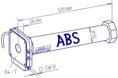 siral persiana ABS Motor tubular tubular tubular nhk da9ade