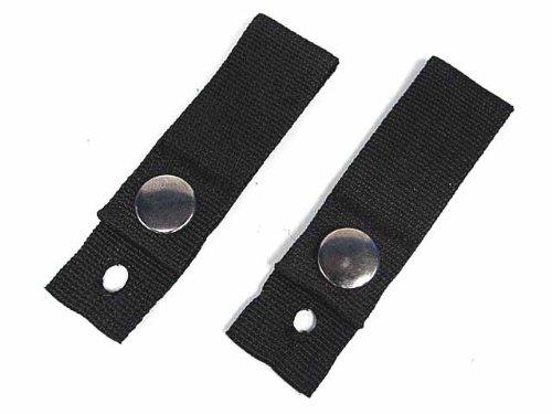 AirSoft Tactical Helmet Universal Goggle Retention Straps Black