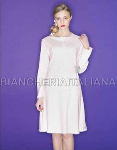 nuovo di zecca 1b0d3 e13e5 RAGNO Camicia da Notte Donna Linea Cuore&Batticuore Maniche ...