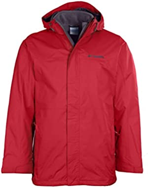 Men's Glacial Pass 3-in-1 Waterproof Interchange Jacket-Red