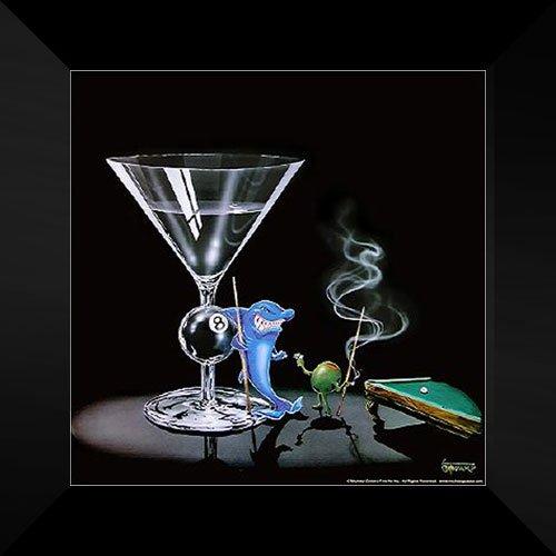 Michael Godard Framed Art 16x16