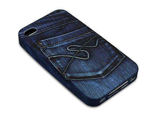 Sandberg Jean Imprimé Poche coque pour iPhone 4/4S
