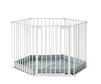 0943245f3 Baby Dan Park a Kid 6714-10400-1220-17-85 Playpen White  Amazon.co ...