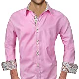 Pink Paisley Dress Shirts - Made in the USA