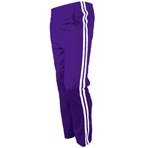 myglory77mall Men's Running Jogging Track Suit Warm Up Pants Gym Training Wear L US(2XL Asian Tag) - Purple Tracksuit