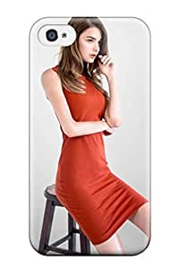 Hot Snap-on Ophelie Guillermand Hard Cover Case/ Protective Case For Iphone 4/4s 4270865K60514486