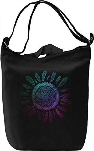 Ethnic Dream Catcher Borsa Giornaliera Canvas Canvas Day Bag| 100% Premium Cotton Canvas| DTG Printing|