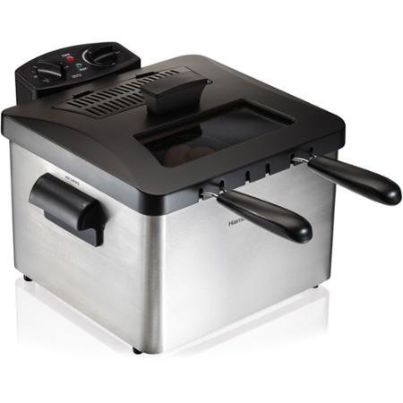 Hamilton Beach Professional-Style Deep Fryer,12-cup food capacity