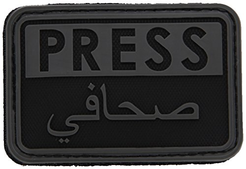 Hazard 4 3D Stampa / Arabo Reporters Morale Patch Nero