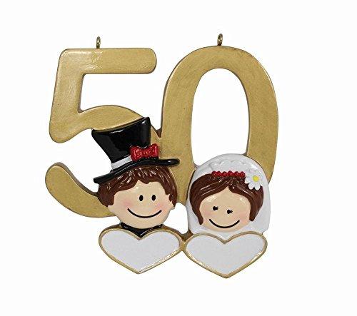 Personalized Anniversary Ornaments - MAXORA Personalized Ornament 50th Anniversary Wedding Couple Gifts