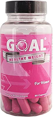 GOAL Healthy Weight - Weight Loss Pills for Women 60 Capsules - Best Diet Pills That Work Fast