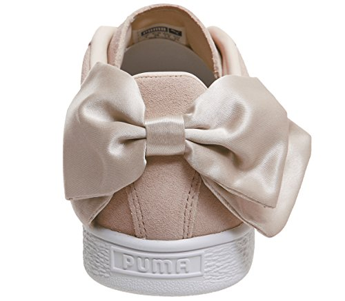Ginnastica Beige Da Wn's Scarpe Donna Puma Basse Bow Suede Cq7wxBPXB