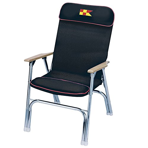 Garelick Deck Chairs (Garelick Deck Chair-padded Navy 35029-67:01)