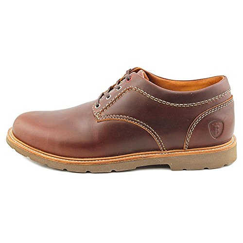 Boston Boot Co. Mens Berkeley Oxford Brunt Läder